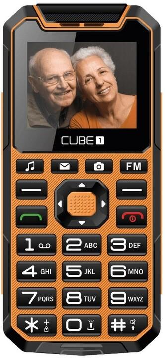 CUBE1 S400 Senior, Orange