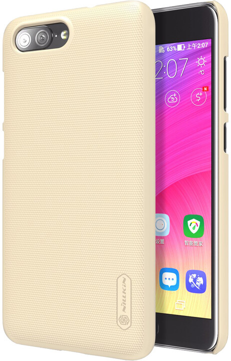 Nillkin Super Frosted pro Asus Zenfone 4 Max ZC554KL, Gold