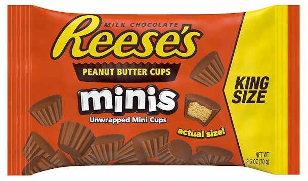 Reese's Minis Peanut Butter Cups King Size 70 g