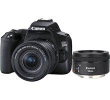 Canon EOS 250D + 18-55mm IS STM + 50mm f/1.8 IS STM Získejte zpět 1 500 Kč po registraci