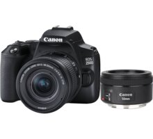 Canon EOS 250D + 18-55mm IS STM + 50mm f/1.8 IS STM - 3454C013