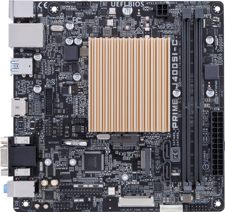 ASUS PRIME J4005I-C - Intel J4005