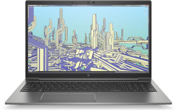 HP Zbook 15 Firefly G8, šedá