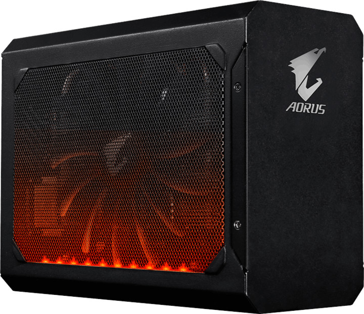 GIGABYTE GeForce AORUS GTX 1080 Gaming Box, 8GB GDDR5X