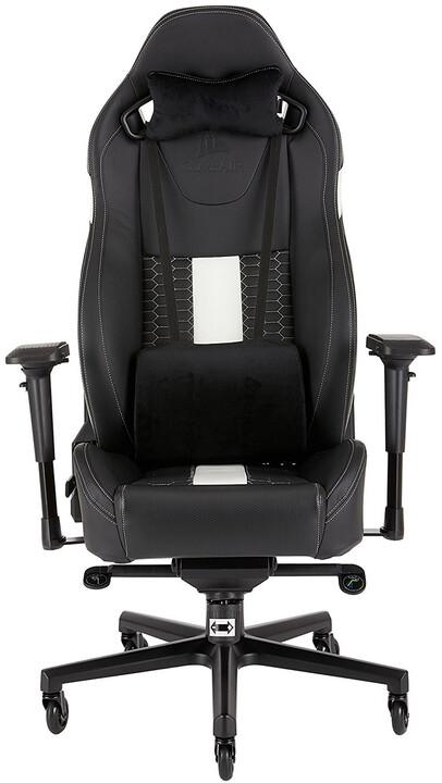Corsair Gaming T2 ROAD WARRIOR, černá/bílá