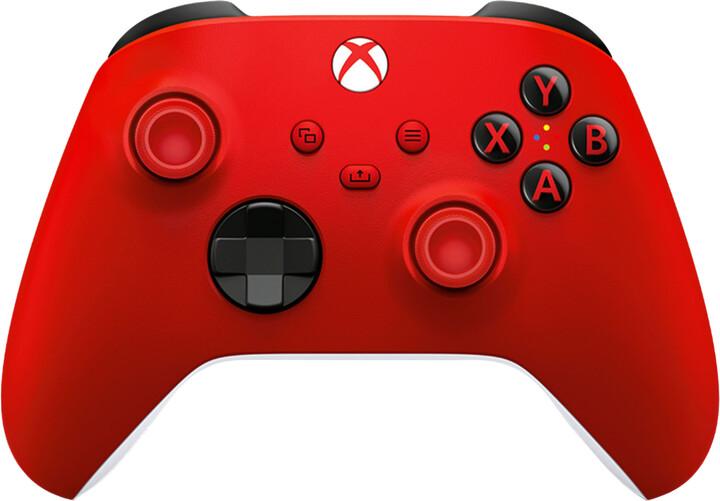 Xbox Series Bezdrátový ovladač, červený