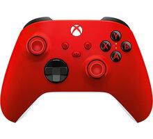 Xbox Series Bezdrátový ovladač, červený (PC, Xbox Series, Xbox ONE) - QAU-00012