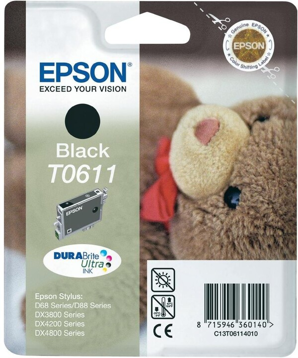 Epson T061140, černá