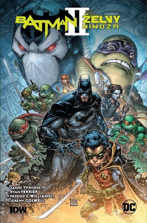 Komiks Batman - Želvy nindža, 2.díl