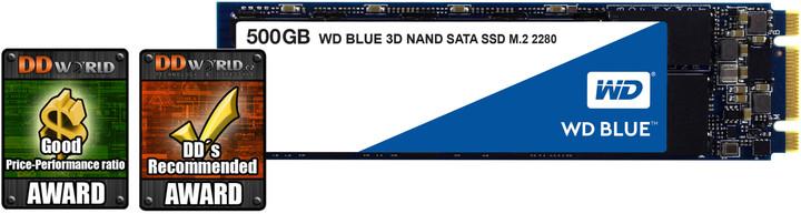 WD Blue 3D NAND, M.2 - 500 GB
