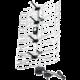 Emos ASP-30, 45dBi, venkovní