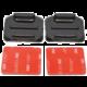 Apei zakřivené nalepovací držáky 2ks (3M) (GoPro 4/3+/3/2/1, SJCAM, Xiaomi Yi)