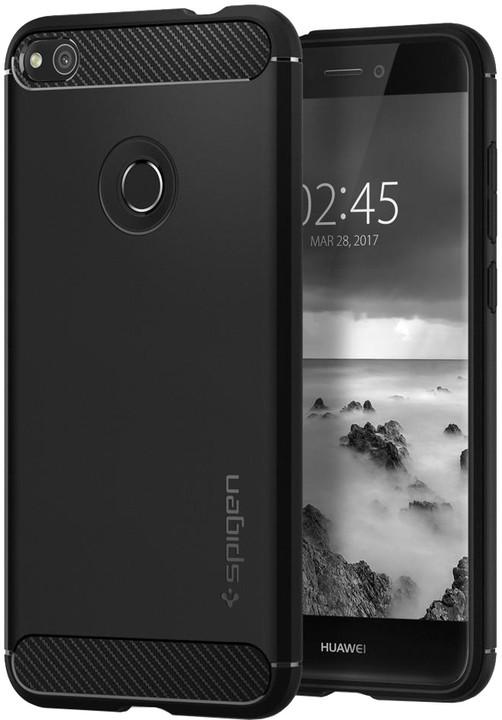Spigen Rugged Armor zadní kryt pro Huawei P9 Lite (2017), černá