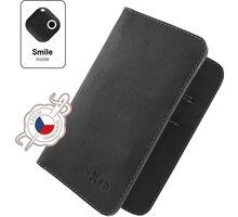 FIXED peněženka Smile Wallet XL se smart trackerem, černá