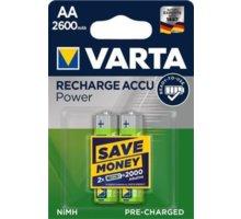 VARTA nabíjecí baterie Power AA 2600 mAh, 2ks - 5716101402