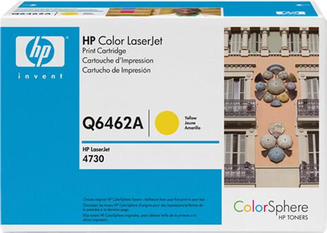 HP Q6462A, žlutá