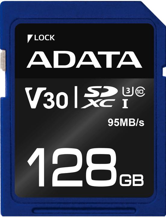 ADATA SDXC Premier Pro 128GB 95MB/s UHS-I U3