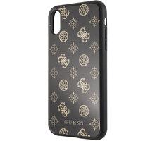Guess pouzdro Layer Glitter Peony pro iPhone XR, černá 2444388