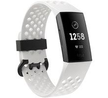 Fitbit Charge 3, SE Frost White Sport / Graphite Aluminium