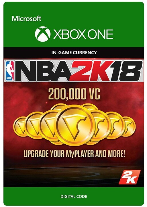 NBA 2K18 - 200000 VC (Xbox ONE) - elektronicky