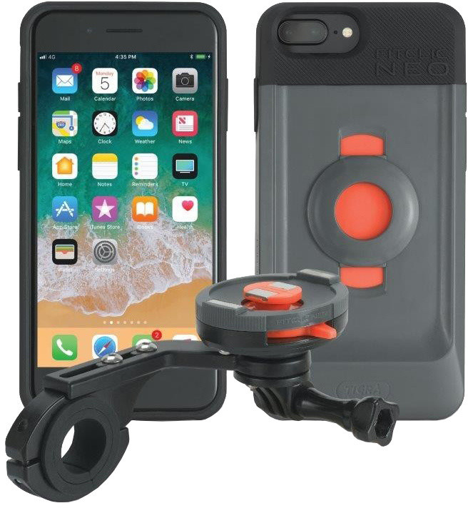 TigraSport FitClic Neo Bike Kit Forward - iPhone 6s+/7+/8+