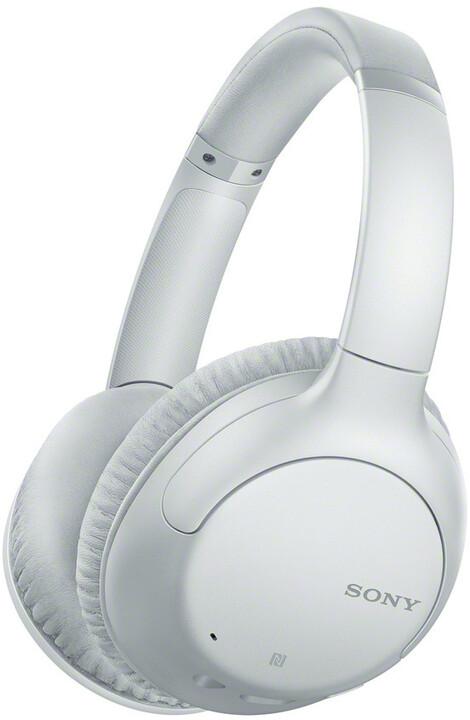 Sony WH-CH710N, bílá-šedá
