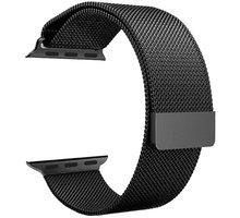 ESES milánský tah 38mm pro Apple Watch, černá