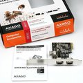 AXAGON PCEF-X1 PCI-Express adapter 2+1x 1394a FireWire