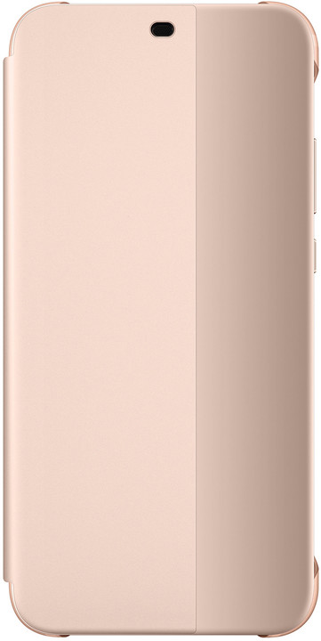 Huawei flipové pouzdro pro P20 lite, růžová