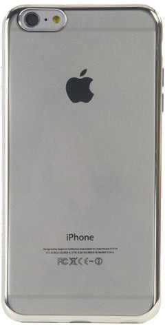 TUCANO Elektro Flex Hard Shel pouzdro pro IPhone 6/6S Plus, stříbrná