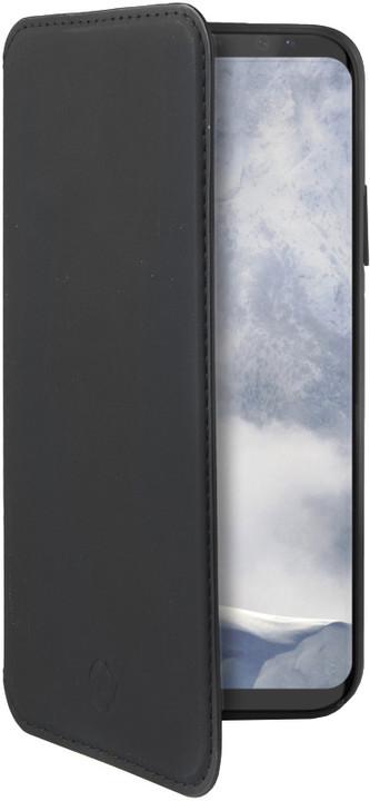 CELLY pouzdro typu kniha Prestige pro Samsung Galaxy S9 Plus, PU kůže, černé