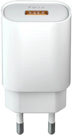 Forever CORE nabíječka USB QC 3.0, 18W, bílá