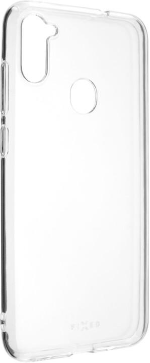 FIXED TPU gelové pouzdro pro Samsung Galaxy A11, čirá