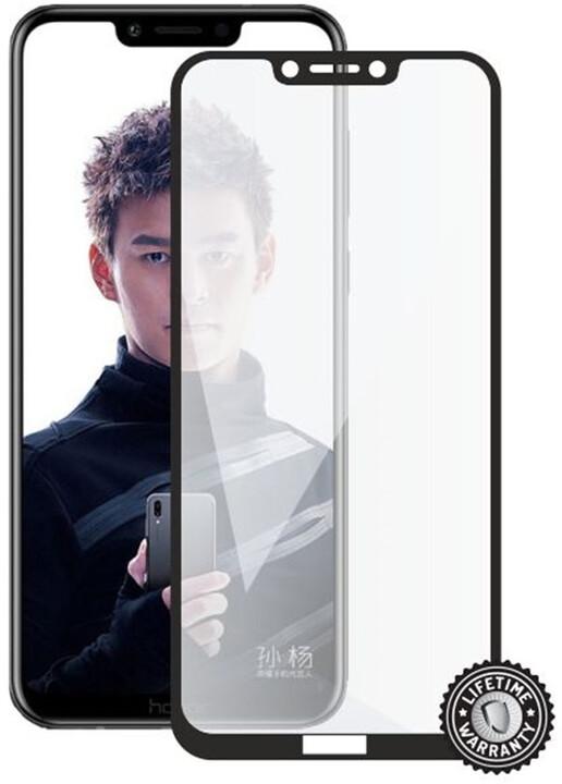 Screenshield ochrana displeje Tempered Glass pro Honor Play (full cover), černá