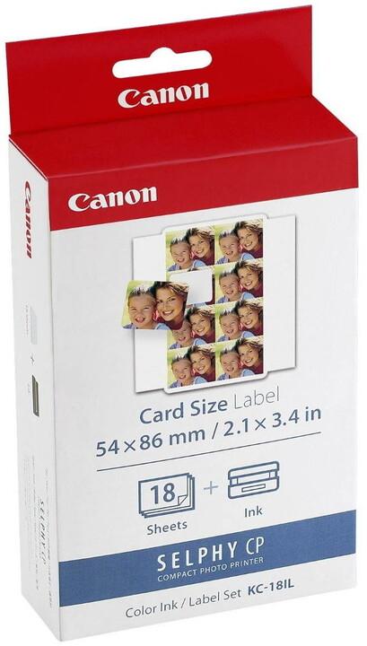 Canon papír KC-18IL + ink (18ks/22 x 17,3mm)