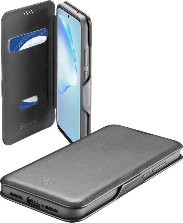CellularLine pouzdro typu kniha Book Clutch pro Samsung Galaxy S20+, černá