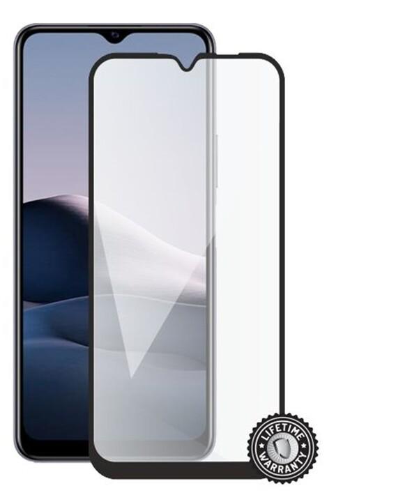 Screenshield temperované sklo na displej pro VIVO Y20S (full COVER), černá