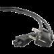 C-TECH kabel síťový 1,8m VDE 220/230V napájecí notebook 3 pin Schuko