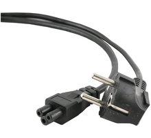 C-TECH kabel síťový 1,8m VDE 220/230V napájecí notebook 3 pin Schuko - CB-PWRC5-18