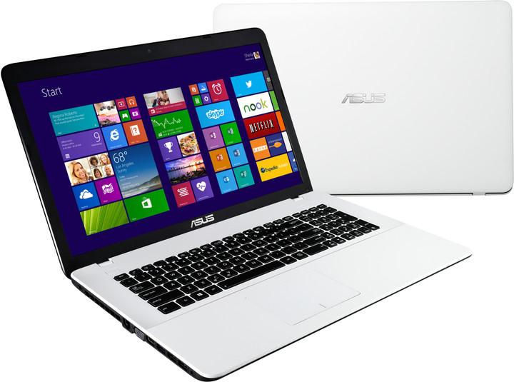 ASUS X751SJ-TY010T, bílá