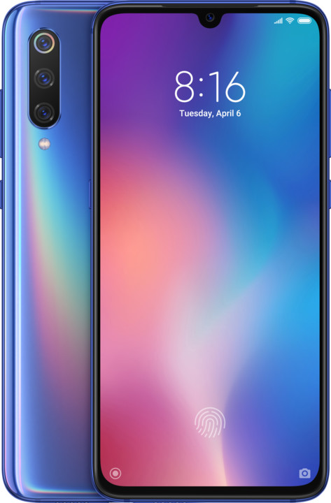 Xiaomi Mi 9, 6GB/64GB, modrá