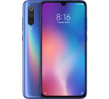 Xiaomi Mi 9, 6GB/64GB, modrá  + 500Kč voucher na ekosystém Xiaomi + DIGI TV s více než 100 programy na 1 měsíc zdarma
