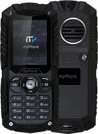myPhone HAMMER Plus, černá