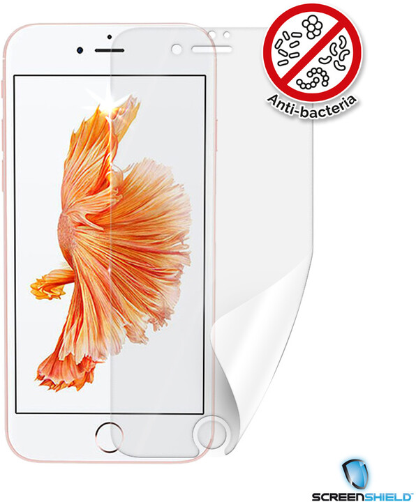 Screenshield ochranná fólie Anti-Bacteria pro iPhone 7