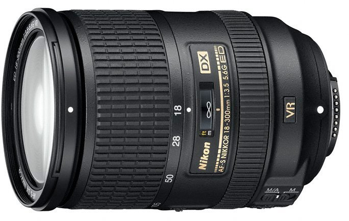 Nikon objektiv Nikkor 18-300mm f/3.5-5.6G ED AF-S DX VR