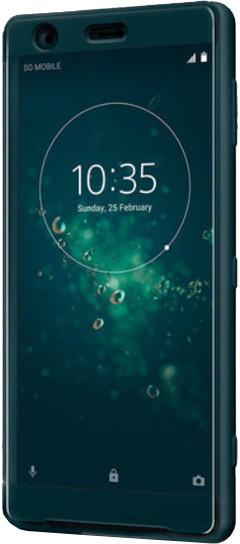 Sony SCTH40 Style Cover Touch pouzdro Xperia XZ2, zelená