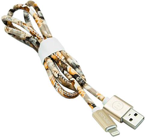 MIZOO USB/ lightning kabel X28-17i, letní květiny