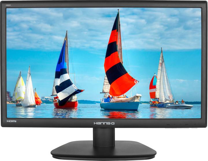 "HANNspree HS271HPB - LED monitor 27"""