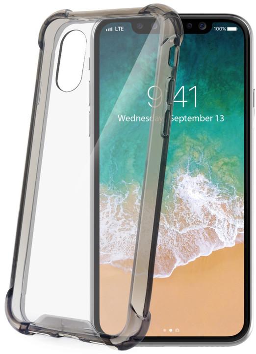 CELLY zadní kryt Armor pro Apple iPhone X, černý