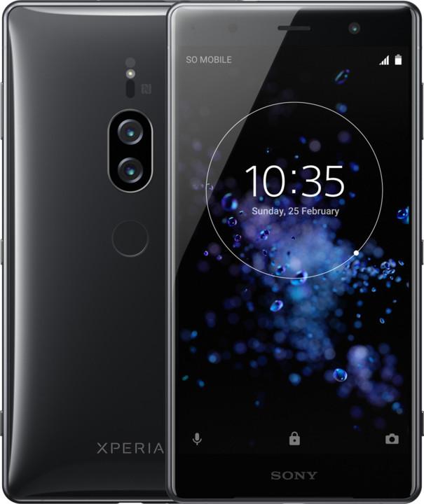 Sony Xperia XZ2 Premium, Chrome Black